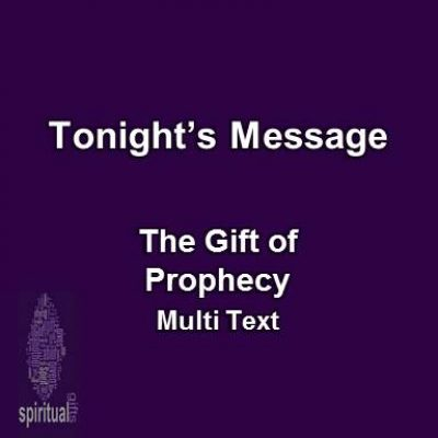 09-28-16pm – The Gift of Prophecy