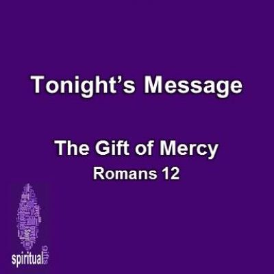 11-02-16pm – The Gift of Mercy – Pleasant Valley South Baptist Church