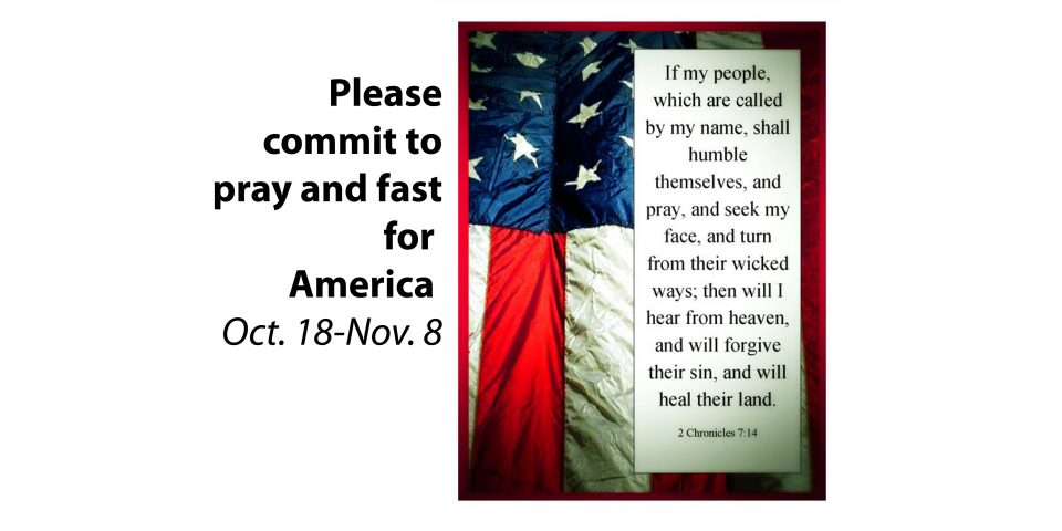 Pray and Fast for America
